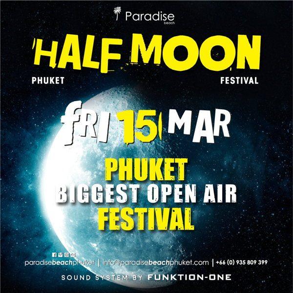 2019 03 15 Half Moon Party Thailand Phuket Square
