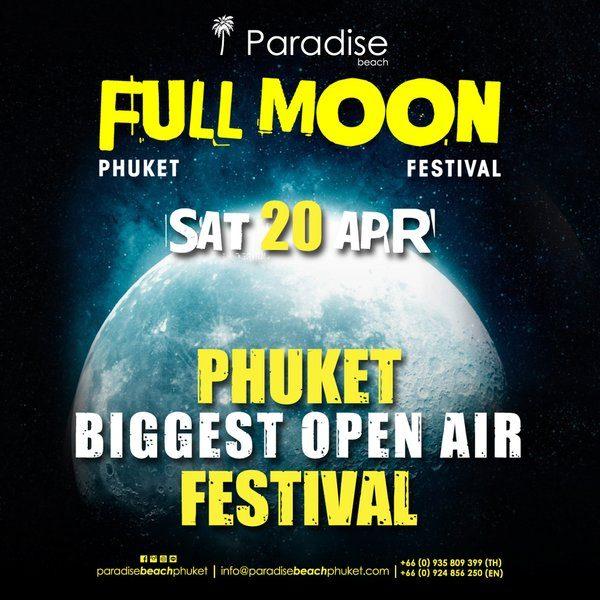 2019 04 20 Full Moon Party Thailand Phuket Square