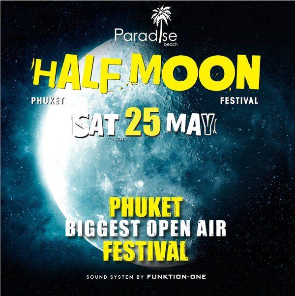 25 May 2019 Half Moon Party Phuket