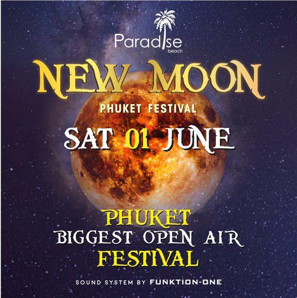01 June 2019 New Moon Party Phuket