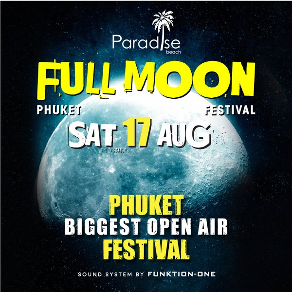 Full Moon Party Ticket @ 17 August 2019